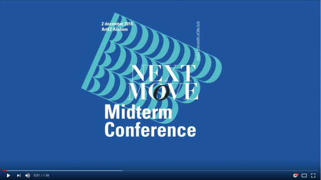 Aftermovie: ArtEZ next move - Midterm Conference